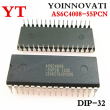 5 pcs/lots AS6C4008 55PCN IC SRAM 4 מגה ביט 55NS 32DIP 6C4008 AS6C4008 הטוב ביותר באיכות