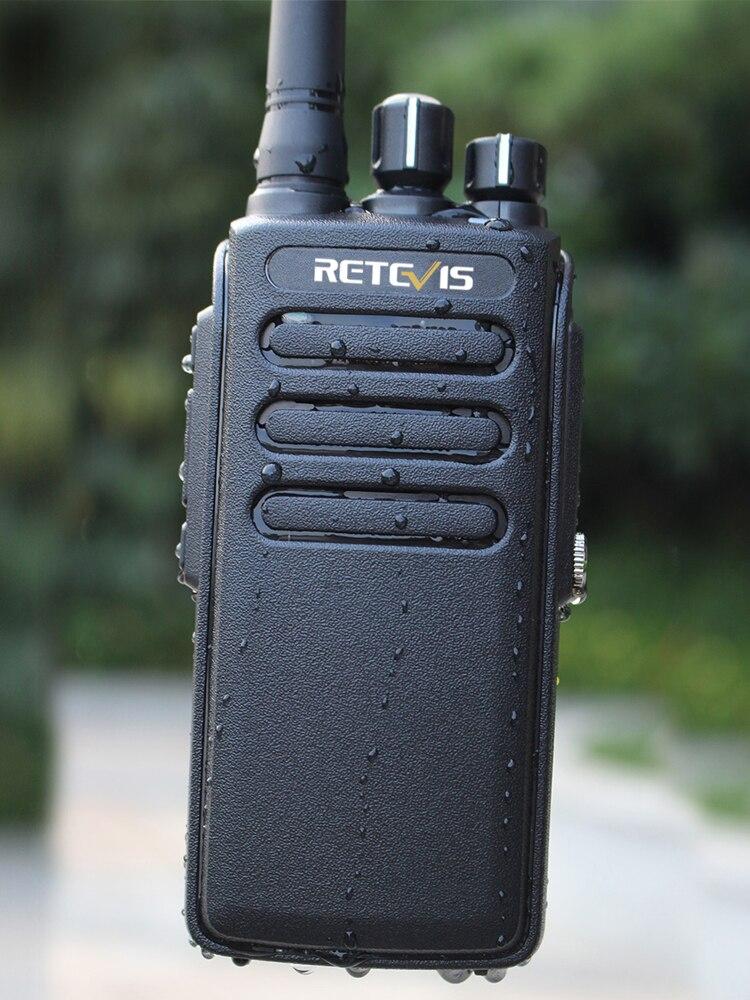 Retevis Walkie-Talkie Radio-Station DMR Digital Two-Way-Radio Uhf400-470mhz-Vox Waterproof