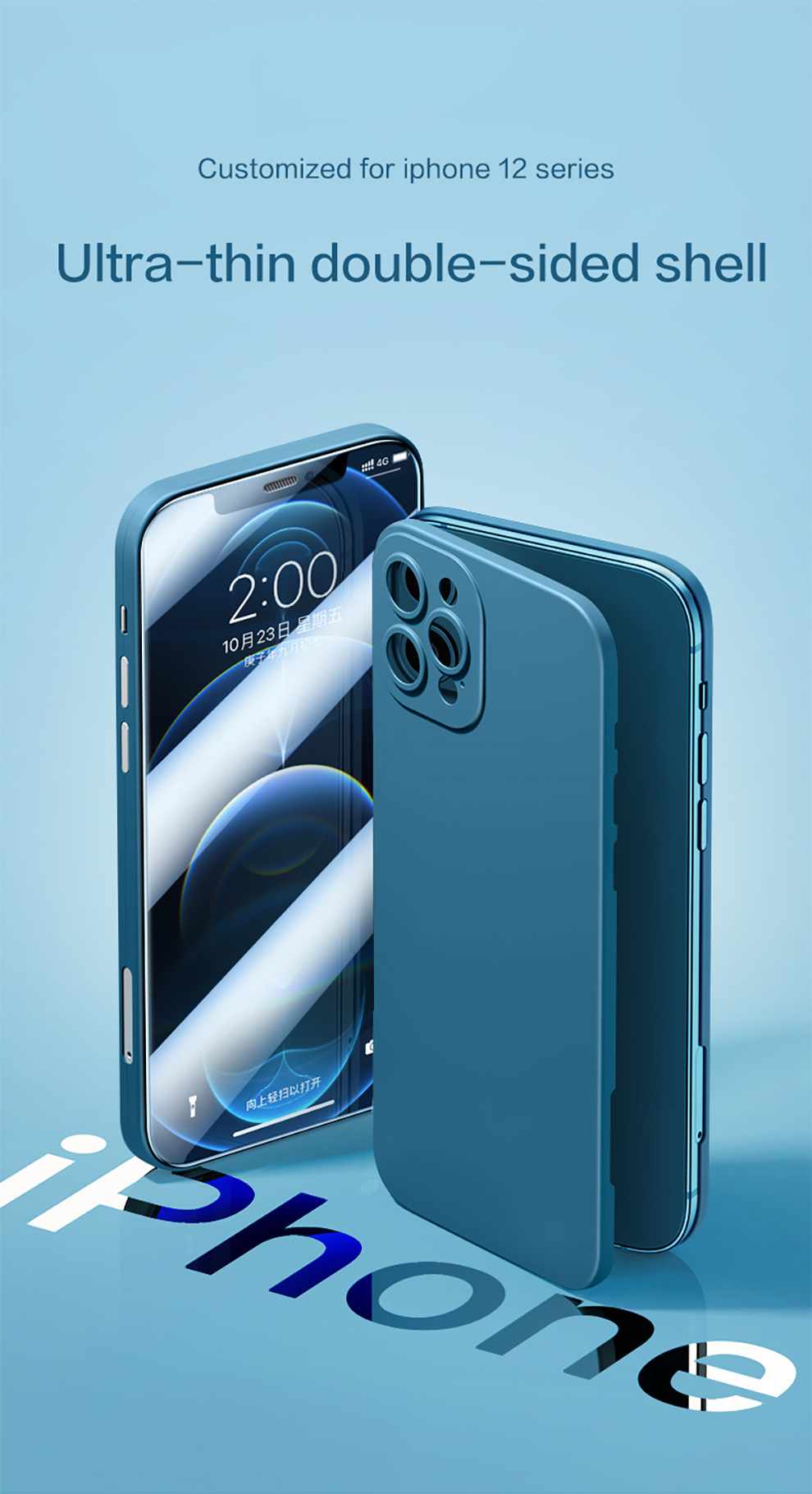 360 Full Body Protective Smart Phone Case