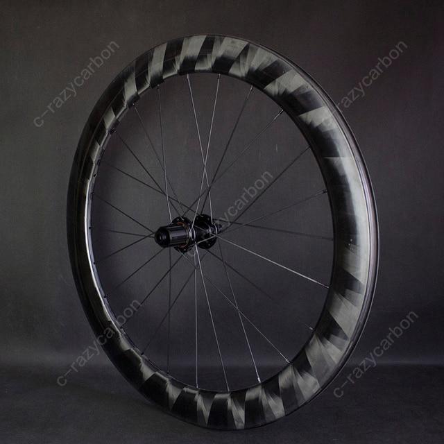 Pro luz x60mm rodas de carbono ciclismo ultra leve x 60 rodas ciclismo estrada jantes carbono novatec centro bloqueio para venda