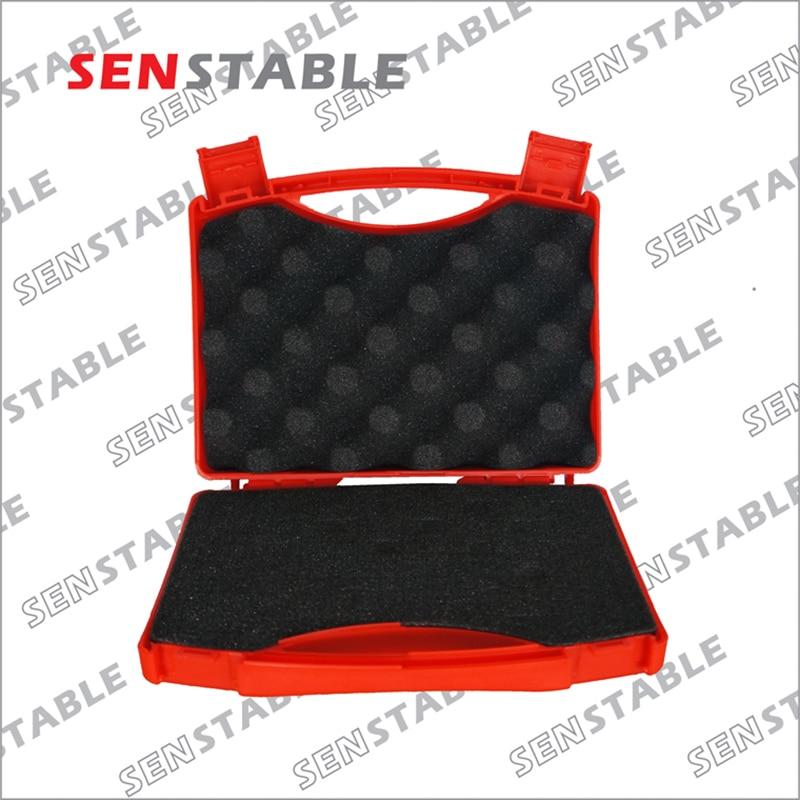 Cassetta degli attrezzi in plastica Valigia per valigetta Attrezzatura per valigetta di sicurezza resistente agli urti Attrezzatura per cassetta degli attrezzi con schiuma pretagliata