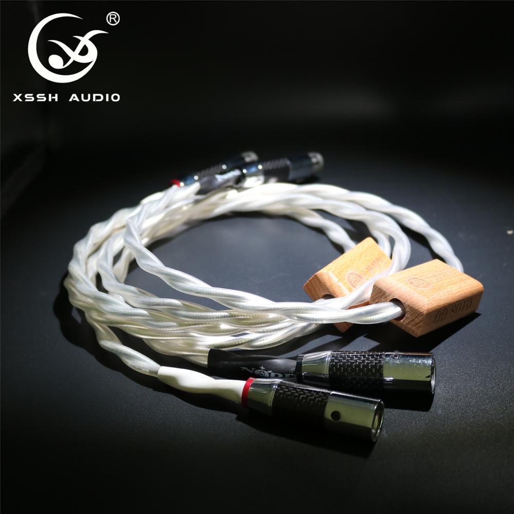 Nordost Odin suprême référence Audio XLR mâle femelle câble d'interconnexion Hifi câble d'équilibre audio ligne de connexion