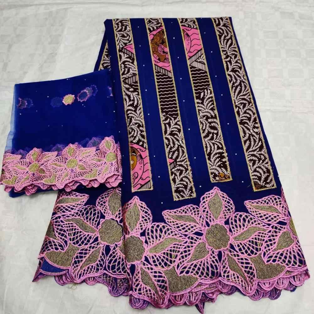 Nowy stylesSwiss woal koronki tkaniny wysokiej jakości 5 + 2 szwajcarski koronki tkaniny najnowszy Dubai kamień afryki francuski koronki tkaniny FFLJ98