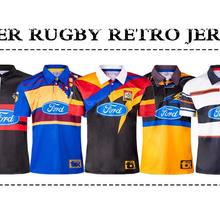 SUPER RUGBY RETRO JERSEY 1996 BLUES 2000 cruzados 1999 HURRICANES 1998 HIGHLANDERS y CHIEFS Talla: S-5XL