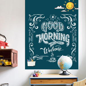 Image 5 - Magnetic DIY Blackboard Drawing Board with Chalk Pen Children Kids Painting Doodle Education Toys for Children Birthday Gift