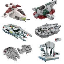 Blocos de construção amigo tecnologia tie fighter microfighters brinquedos espaço navio conjunto tijolos brinquedos crianças presentes para meninos