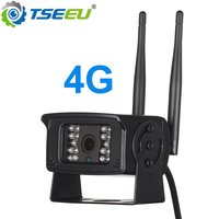 4G 3G sim card IP camera automobile truck camera video recording app remotely view max 128G card inbuilt microphone 1080P 5MP