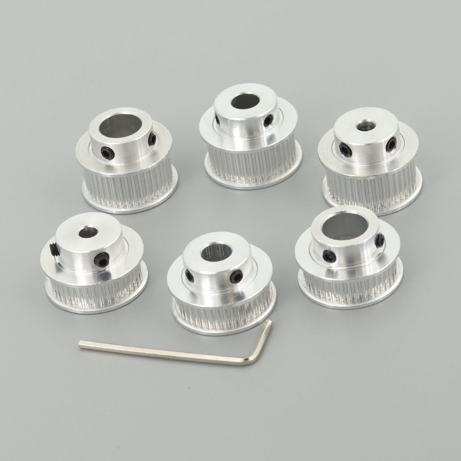 GKTOOLS GT2 Timing Pulley 2GT 40 Tooth Teeth Bore 5/6/6.35/8/10/12mm Synchronous Wheels Width 6/9/10mm Belt 3D Printer Parts