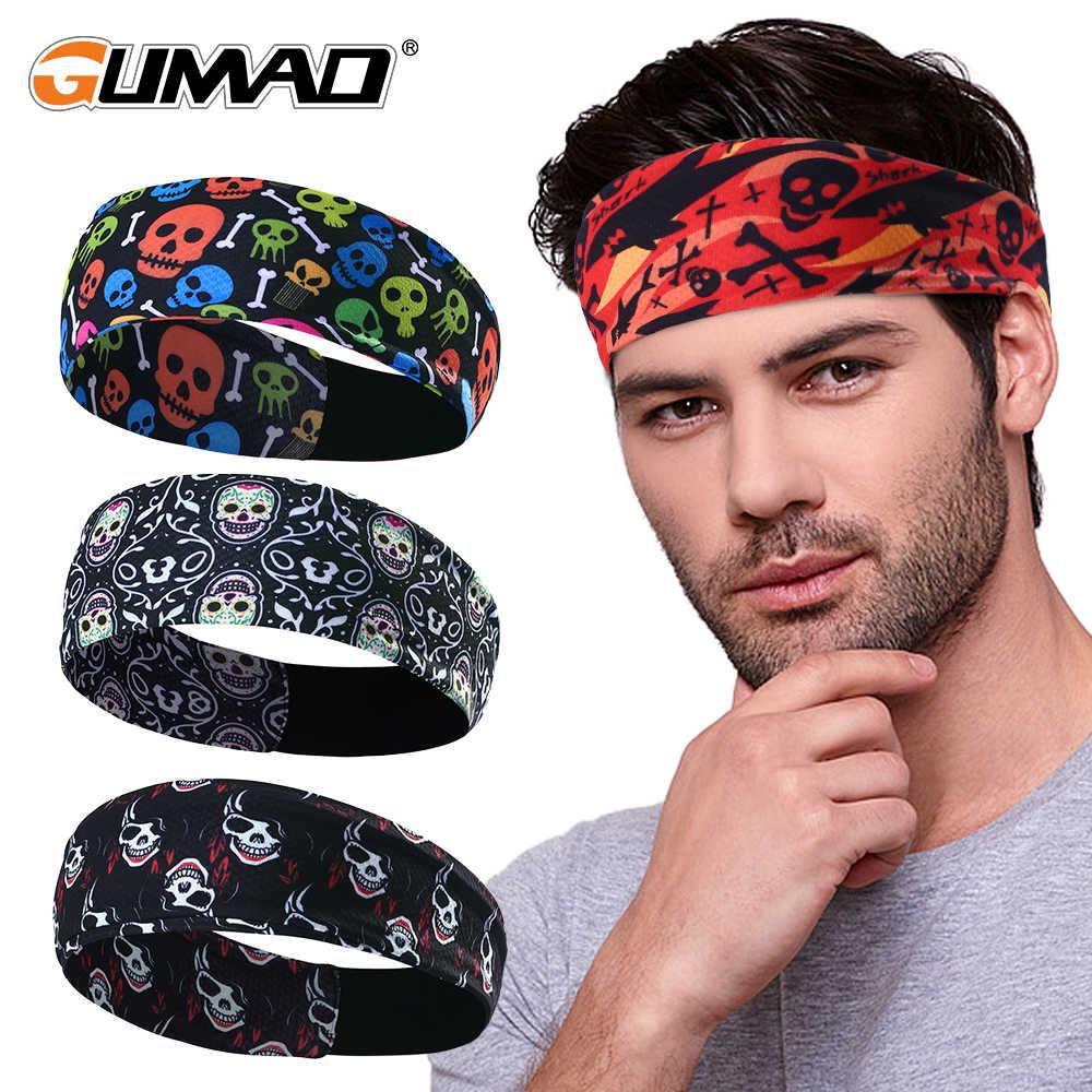 Hairband Cycling Headband Bike Headwear Sport Hair Sweatband Men//Women Bandana