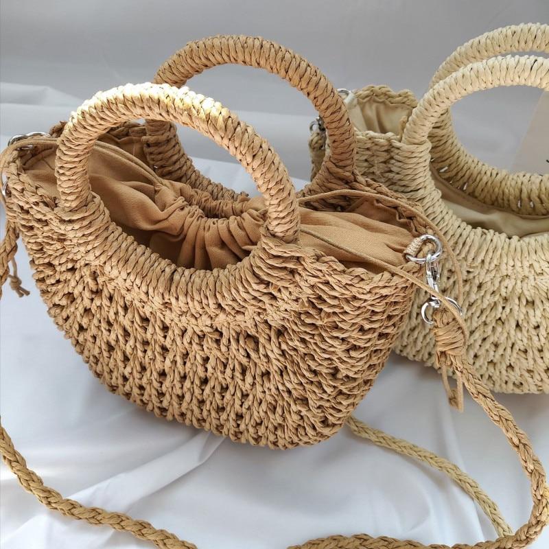 Summer-Handmade-Bags-for-Women-Beach-Weaving-Ladies-Straw-Bag-Wrapped-Beach-Bag-Moon-shaped-Top