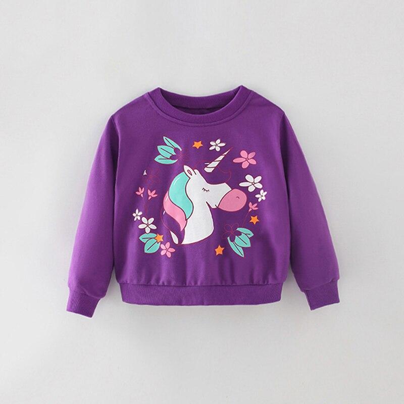 saileroad moda unicornio criancas bebe roxo moletom 04