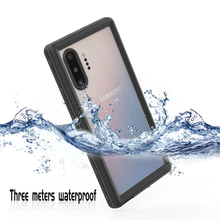 Under Water Real Waterproof Case For Samsung S20 Ultra Note 10 +Transparent Water Proof Case For Samsung S10 S9 Plus Phone Case