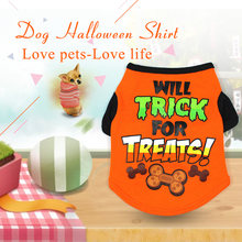 Vestiti del cane di Halloween Dog Shirt Per Pet Dog T Shirt Cani Little Devil Vestiti Pet Pet Vestiti di Halloween Costume di Halloween camicette(China)