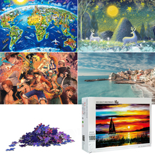 Jigsaw Puzzles for Adults 1000 Piece Wooden Jigsaw Puzzle Educational Family Game Toys Gift for Home Wall Decoration