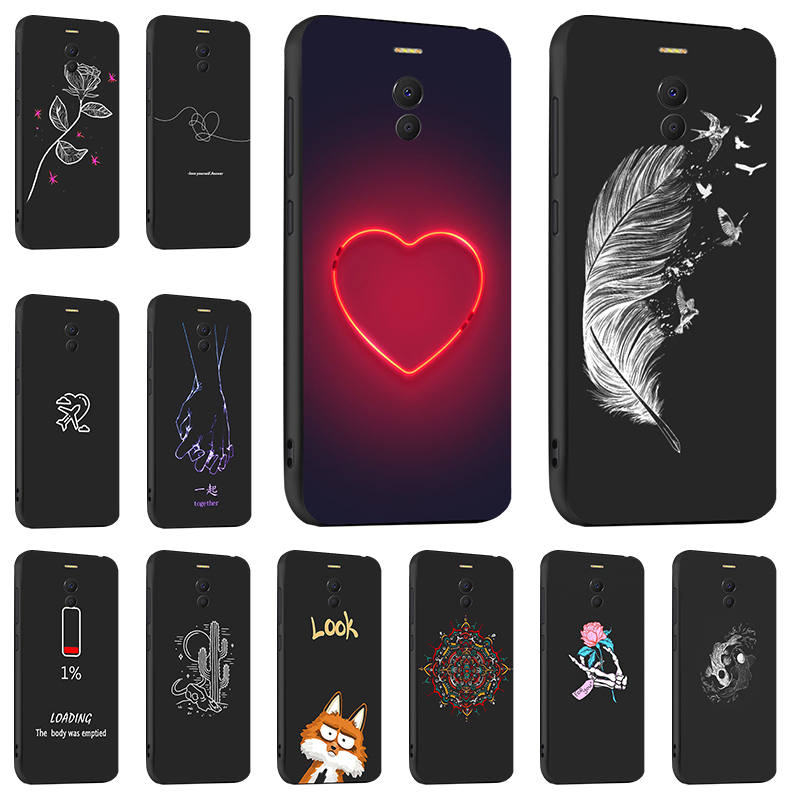 DIY Painted Phone <font><b>Case</b></font> For <font><b>Meizu</b></font> M6 M5 Note <font><b>Case</b></font> Silicon Back <font><b>Case</b></font> For <font><b>Meizu</b></font> M6T <font><b>M6s</b></font> M5S M6 Mx6 <font><b>Cases</b></font> Cover Fundas Skin Bumper image