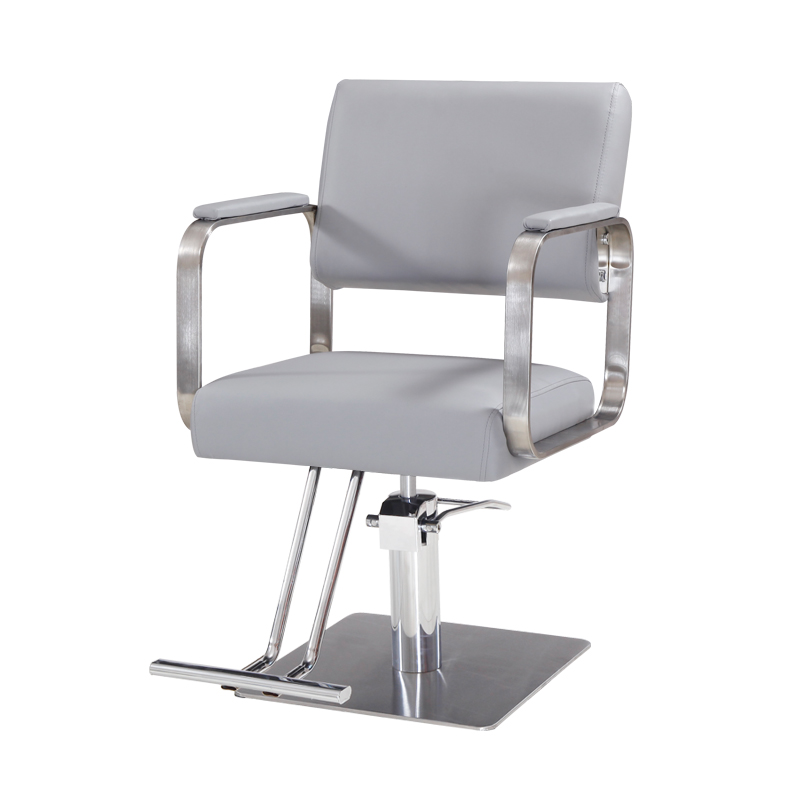 Retro Barber Shop Chair Hairdressing Dyeing Hot Chair Haircut Chair Hair Salon Hydraulic Chair Master Chair Large