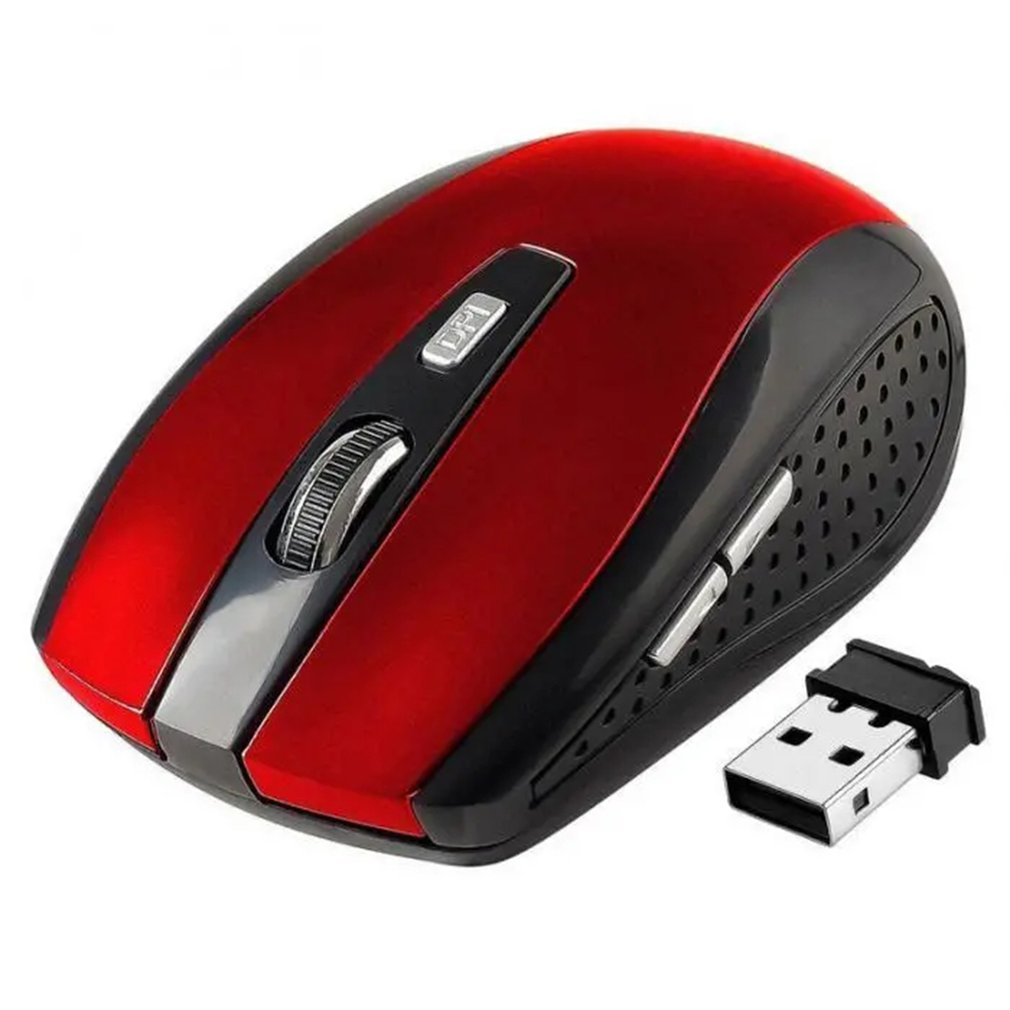Portable 2.4GHz 6D USB 6 Key Wireless Optical Gaming Mini Mouse 2000 DPI Mice USB Receiver Optical Mouse