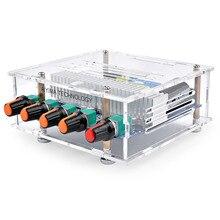 AIYIMA TPA3116 50 ワット * 2 + 100 ワット Bluetooth のデジタルパワーアンプ組み立てボード TPA3116D2 ハイファイ 2.1 サブウーファー低音ボードとケース