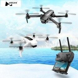 Hubsan H117S Zino GPS 5.8G 1KM bras pliable FPV avec caméra 4K UHD cardan 3 axes Drone RC personnalisé quadrirotor RTF haute vitesse