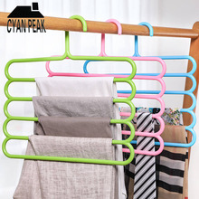 Trousers Hanger Closet-Organizer Pants Storage-Rack Wardrobe Space-Saver Multifunctional