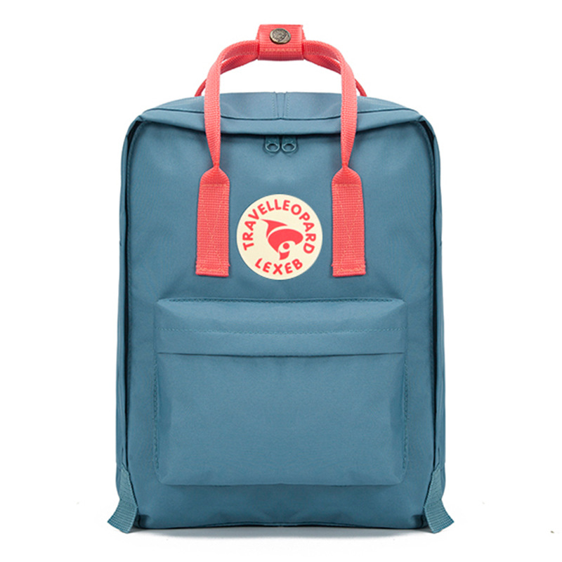Fashion Japanese Wind Shoulder <font><b>Backpack</b></font> Academy Wind Nylon Waterproof <font><b>Backpack</b></font> image