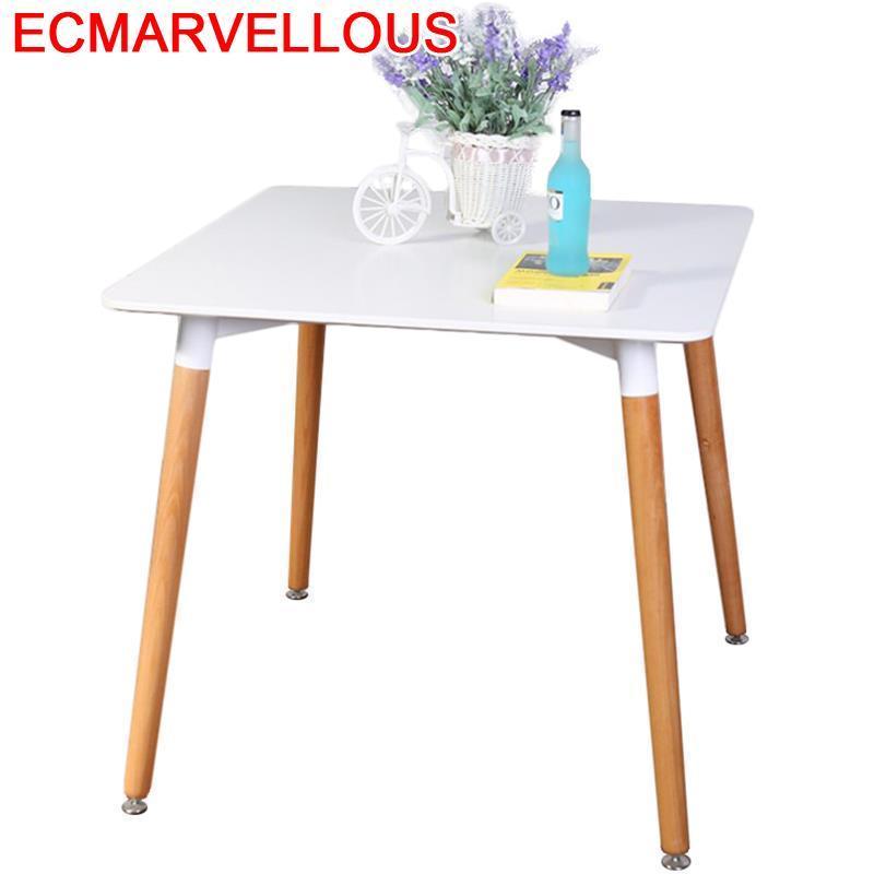 Piknik Masa Sandalye Pliante Dinning Eettafel Kitchen A Manger Moderne Retro Wooden Mesa Comedor Bureau Tablo Dining Table