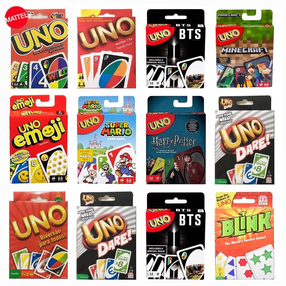 Martel новые карты Игра Uno семейная забавная развлекательная компания забавная покерная Подарочная коробка покер Uno игры игрушки