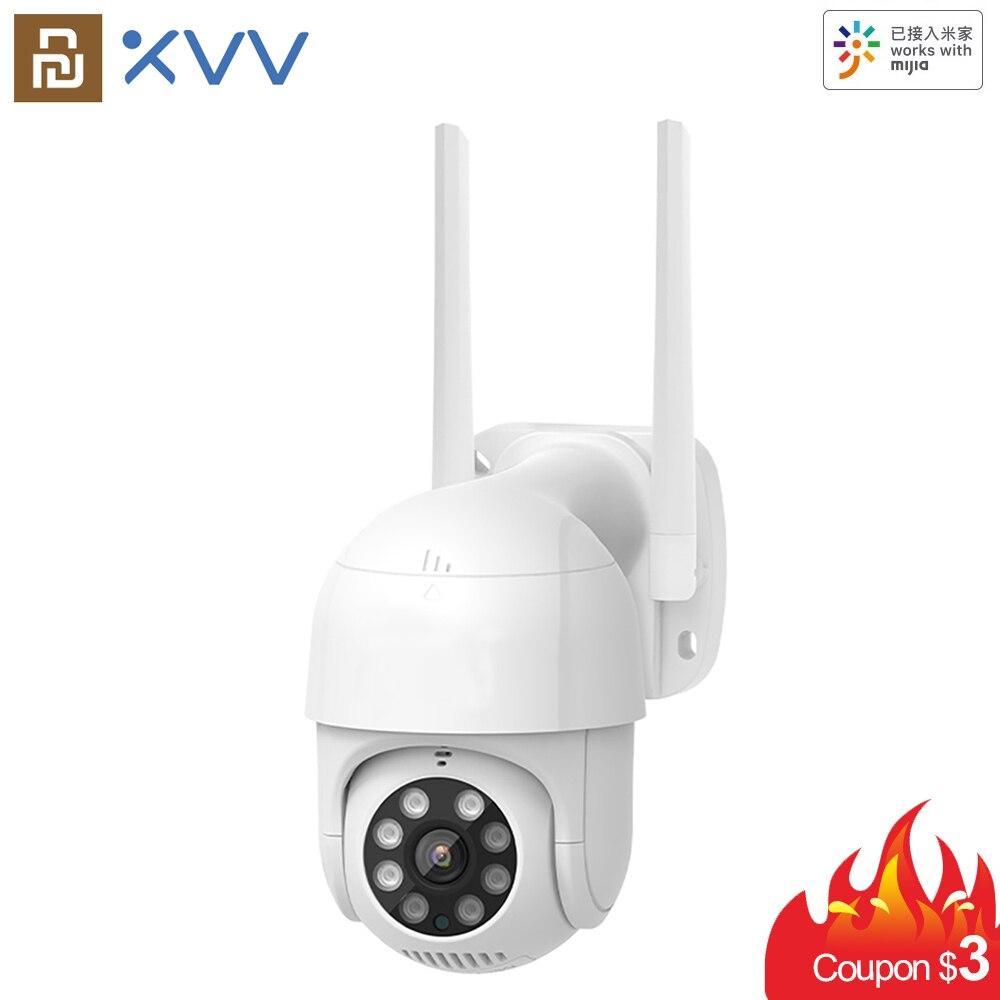 Xiaovv P1 270 ° PTZ 1080P caméra IP MiHome APP dôme Webcam 2MP WiFi sécurité extérieure étanche Surveillance caméra de vidéosurveillance