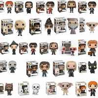 Funko POP-Nuevo Draco Malfoy Harry Potter Myrtle La llorona, edición limitada, muñecas de vinilo figuras en miniatura de juguete para niños, regalo de Navidad