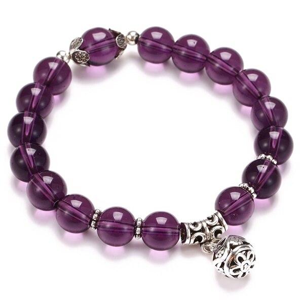 Классический Набор браслетов «Древо жизни» для женщин, многослойный винтажный браслет из натурального камня в виде листьев, браслеты и браслеты, ювелирные изделия, подарки - Окраска металла: 7634