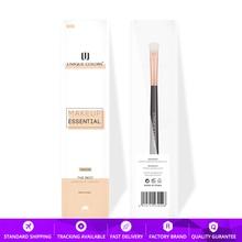 U206 Medium Eye shadow brush Rose gold ferrule Brown wooden handle for applying shining color or layering shadow Makeup brushes