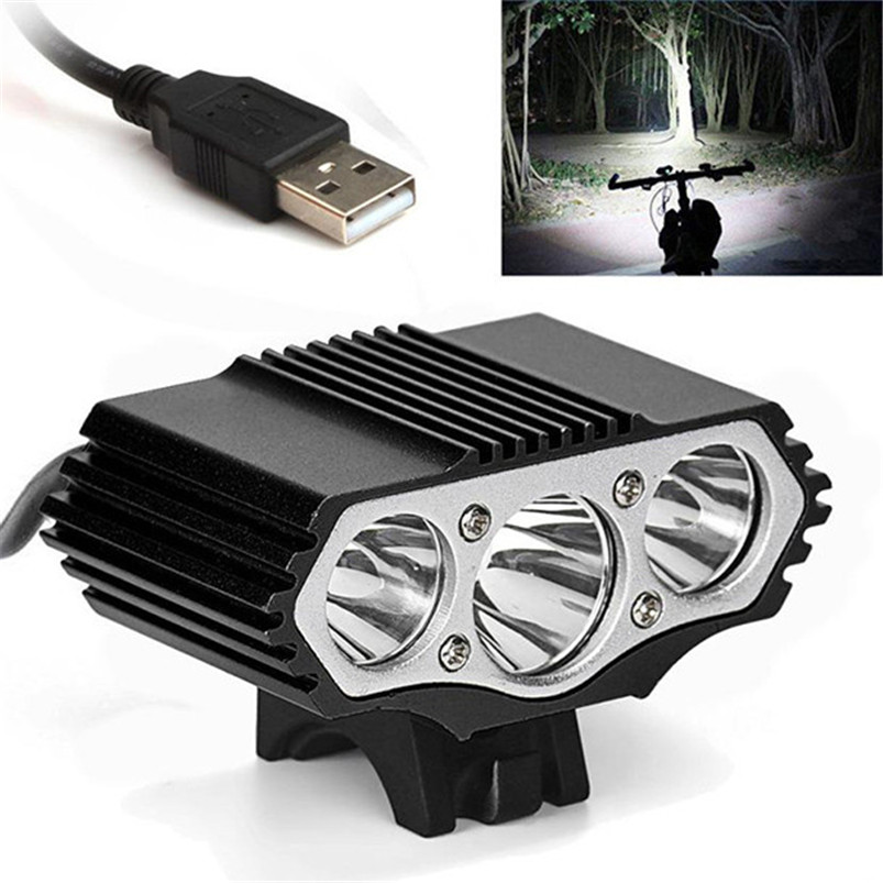 T6 LED Bike Light 12000 Lm 3 X XML 3 Modes Bicycle Lamp Headlight Cycling Torch Bike Light Led Flashlight #4A27 &D