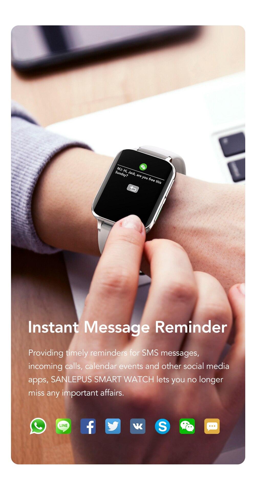 2021 novo original dt93 relógio inteligente 1.78