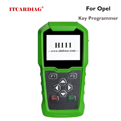 OBDSTAR H111 For Opel Car Key Programmer Can Extracting PINCDOE Auto key programming and cluster calibration via OBD