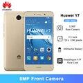 Huawei Y7 смартфон 2 Гб оперативной памяти, 16 Гб встроенной памяти, 5,5 дюймов Snapdragon 435 Восьмиядерный 12MP тыловая камера 4000 мАч батарея Android 7,0 мобиль...