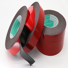 цена на 1MM thickness Super Strong Double Faced Adhesive Tape Foam Double Sided Tape Self Adhesive Pad For Mounting Fixing Pad Sticky