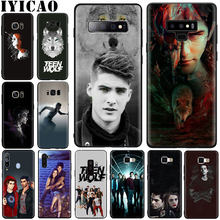 Teen Wolf Soft Case for Samsung S6 S7 S8 S9 S10 S6 Edge S7 Edge S8 S9 S10 Plus S10e Note 8 9 10 Note 10 Plus(China)