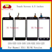 10Pcs/lot Touchscreen For Huawei Y3ii Touch Panel Sensor Digitizer Screen Y3 II 2 LUA-U23 LUA-L03 LUA-U22 LUA-L23