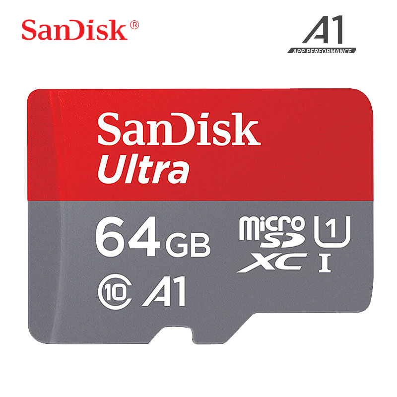 SanDisk Micro SD Card Memory Card Class10 TF Card 16gb 32gb 64gb 128gb Up To 100Mb/s Uitra C10 Cartao De Memoria For Samrtphone
