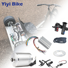 Electric Scooter Kit Electric Bike Conversion Kit 3000w 48V-72V Electric Motor for Skateboard Ebike Motor Controller 50A Go Kart