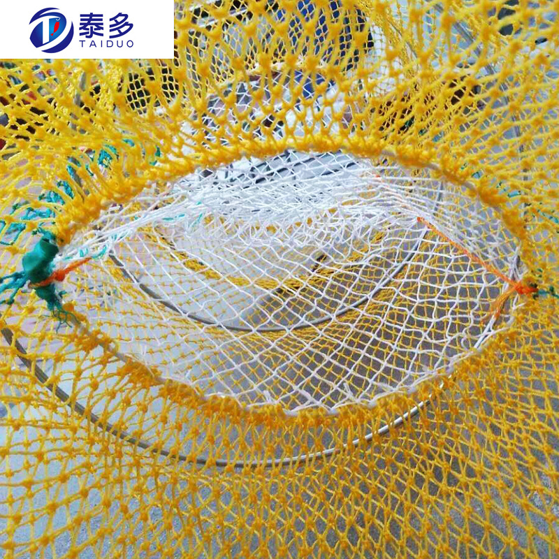 Eel Lobster Pang Xie Long Fishing Equipment Shrimp Trap Cage Circle Yellow Shrimp Cage A Complete Range Of Specifications