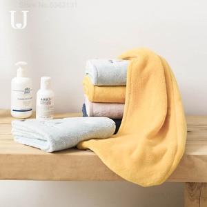 Image 2 - Youpin JORDAN & JUDY gorro de secado de pelo suave para mujer, tapa de secadora rápida, absorbente de agua, gorro protector para la diadema de la ducha del hogar