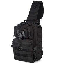 Tactical Sling Bag Pack Military Shoulder Backpack Everyday Carry Bag Multifunction Hunting Pack mens tactical shoulder bag backpack sling chest bag assault pack messenger bag