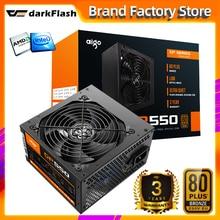 Aigo gp550 max 750W Desktop Power Supply PSU PFC Silent Fan ATX 24pin 12V 80PLUS bronze PC Computer SATA Gaming PC Power Supply