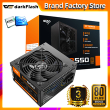 Fan PSU Computer Power-Supply PFC ATX Desktop Gaming Bronze Aigo Gp550-Max Silent 80PLUS