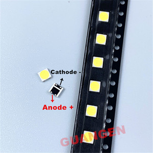 Image 2 - 200 PCS replace FOR LG Innotek LED LED Backlight 2W 6V 3535 Cool white LCD Backlight for TV TV Application LATWT391RZLZK