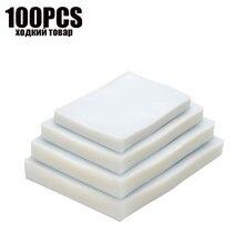 100PCS vacuum sealer Plastic Storage bag for vacuum sealing machine for pack food saver Packaging Rolls packer seal bags цена