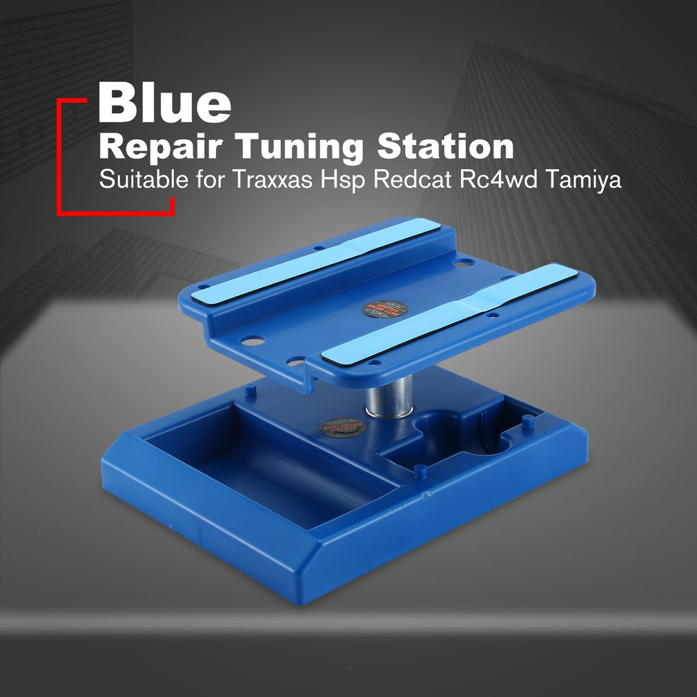 Alloy Model Repair Station Work Stand Rotate 360 For 1/10 1/8  Traxxas Hsp Redcat Rc4wd Tamiya Axial SCX10 D90 HPI RC Cars