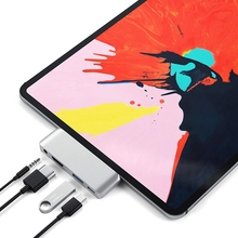 USB3.1 type-C концентратор адаптер мобильный Pro USB-C/PD зарядка/4 K HDMI/USB 3,1/3,5 мм разъем для наушников для iPad Pro