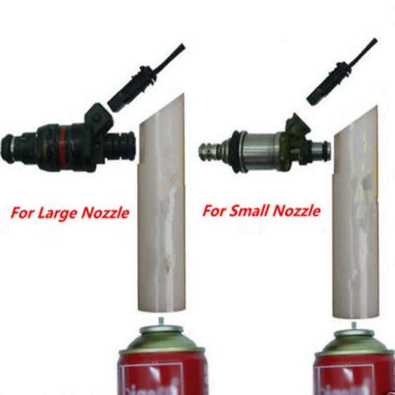 高品質 DIY 車自動車燃料噴射装置フラッシュクリーナーアダプタキット ^ 洗濯ツール